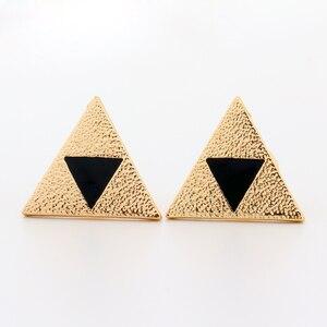 Легенда о Zelda Triforce булавки Triforce символ треугольник черная эмаль игра косплей ювелирные изделия подарок на Хэллоуин