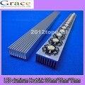 Led dissipador de calor de alumínio 300 mm * 25 mm * 12 mm 1 w, 3 w, 5 W LED diodos emissores