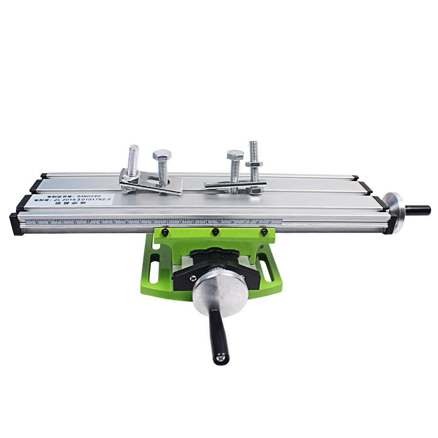 Precision Miniature Multifunction Milling Machine Bench Drill Vise Fixture Worktable X Y-axis Adjustment Coordinate Table miniature precision multifunction milling machine table drill vise fixture worktable x y axis adjustment coordinate table bench