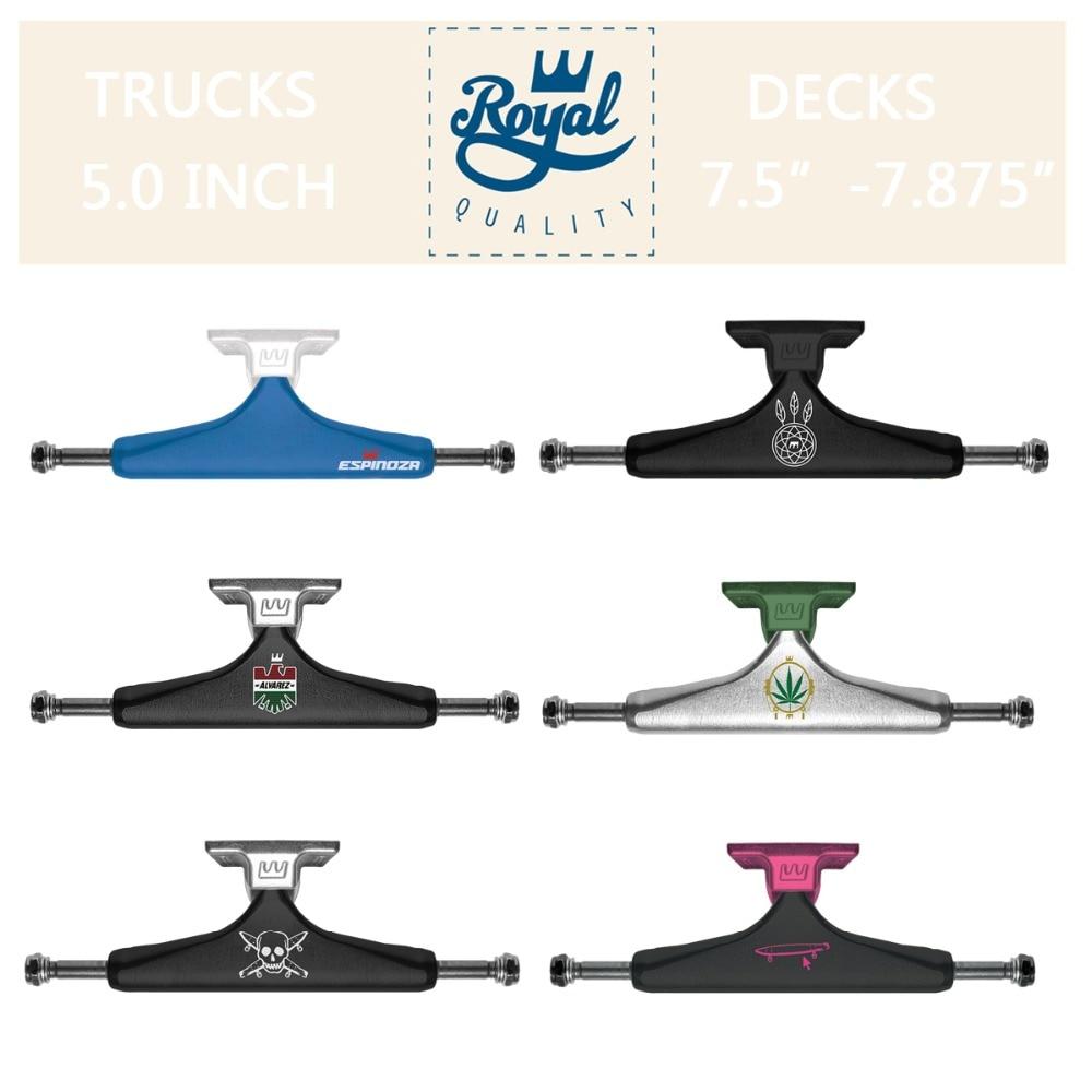 ROYAL 2 pièces trucks de skateboard 5.25