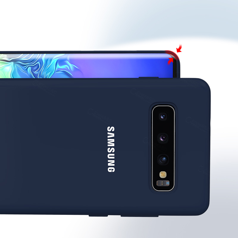Samsung S10 Case Original High Quality Soft Silicone 360 Full Protector Case Samsung Galaxy S10 Plus Case Galaxy S10 S10e Case