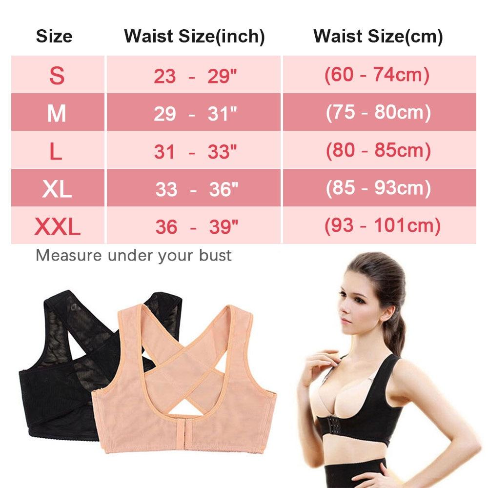 1PC Women Chest Posture Corrector Support Belt Body Shaper Corset Shoulder Brace for Health Care Drop Shipping S/M/L/XL/XXL 5