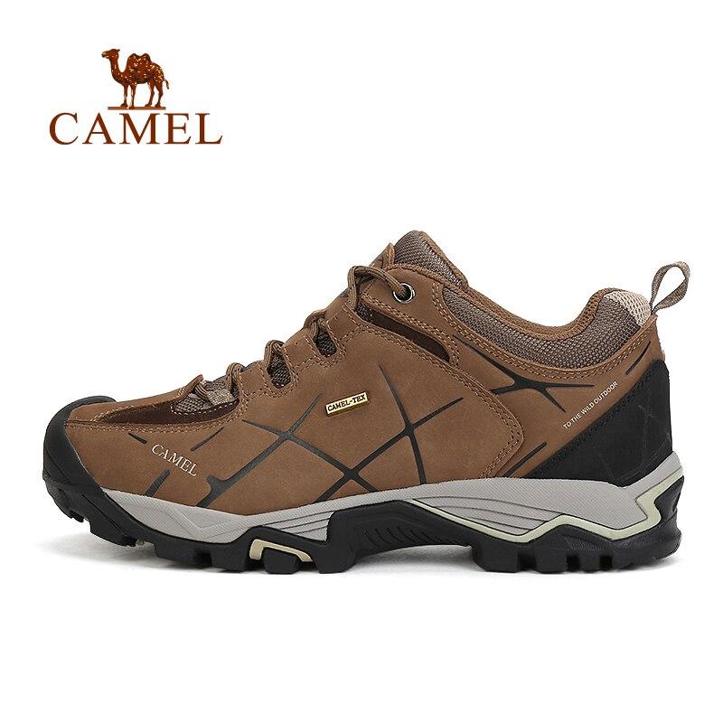 Верблюд для открытый пешие прогулки обувь мужчин скольжению шок, износостойкие абсорбциа высокой обувь походы