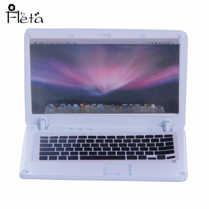 Mini Doll Accessories 5inch Laptop Suitable for 18 quot American Dolls and 43cm Baby Doll Toys for Kids Christmas Gifts in Dolls Accessories from Toys amp Hobbies