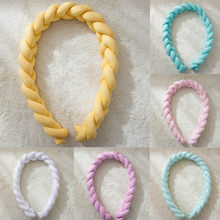 Crib Bumper Long Knotted Braid Pillow Baby blanket Soft Long Braided Weave Strips Nursery Decor Baby bedding wrapping(China)