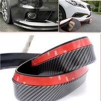 2.5M / car front lip bumper Sticker accessories for Mercedes W211 W204 W203 W210 W124 GLA Benz Alfa Romeo 159 147 156 giulietta