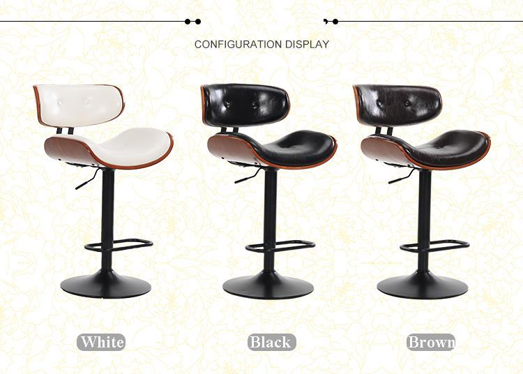 Chair shop Study stool Art classroom bar Household furniture white black brown color 240337 ergonomic chair quality pu wheel household office chair computer chair 3d thick cushion high breathable mesh
