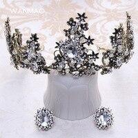 Nouvelle mariée couronne coiffe bronze bijoux de cheveux de mariage accessoires de mariage robe accessoires femmes cheveux accessoires HD0001