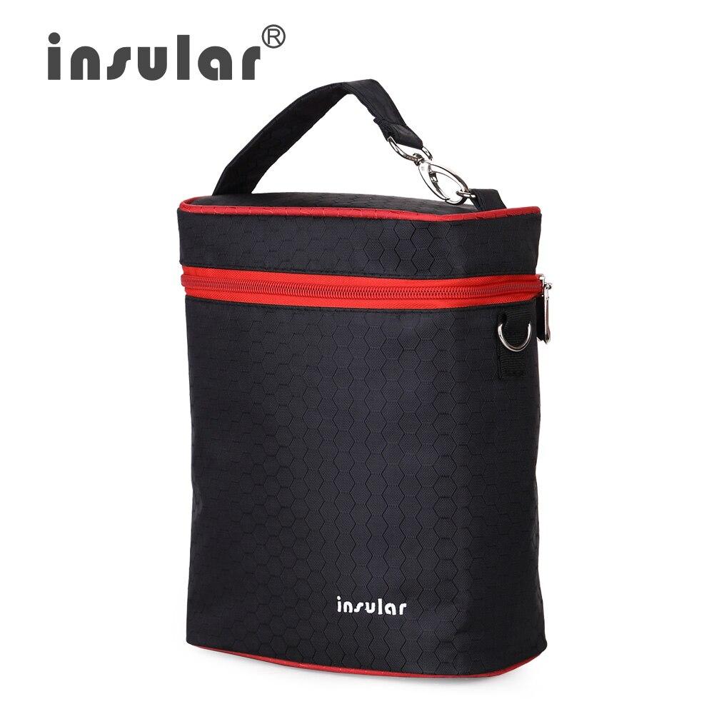 Μάρκα μόδας Insular 420D νάυλον μωρό τροφοδοσία μπουκάλι μπουκάλια μόνωσης Θερμικοί τσάντες μπουκαλιών Cooler τσάντες