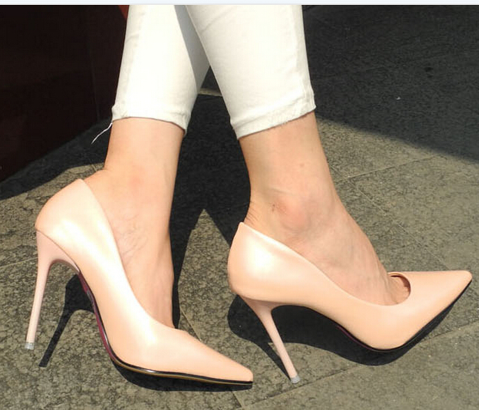 Aliexpress.com : Buy New 2015 Women Pumps Sexy Pointed Toe Thin