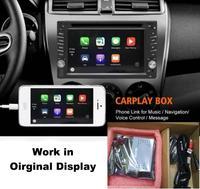 Liandlee Plug and Play USB Carplay Box подключение интерфейса камеры дисплей обновление Оригинальный дисплей для Andriod и IOS телефона