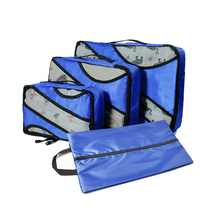 Packing Cubes 3 Sets Latest Design Travel Luggage Organizers Include Shoe Convenient Packing Pouches for Traveller