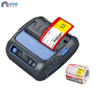 JEPOD JP-8001LY Thermische Drucker Label Empfang 80mm Portabel Mini Mobile Drucker Bluetooth Label Maker POS Android IOS JP-8001LY