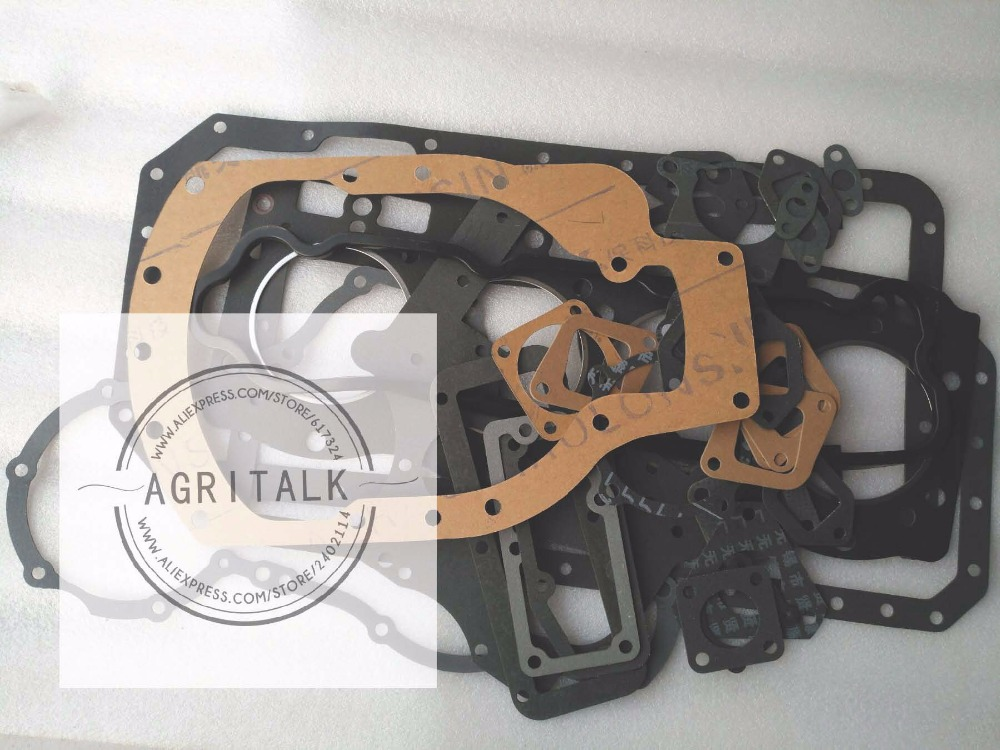 SL4105ABT2S parts,Set of gaskets including the head gasket, part number: changchai zn485t for tractor use the set of gaskets including the head gasket as showed