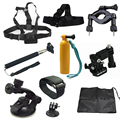 New 9-in-1 Combination Pack Accessories Compatible for All Sports Camera Series