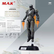 1/12 On Sale 15.3 cm Iron Man MK23 Shades Action Figure Collectible Model Toys 21cm anime figure the avanger gloves for iron man 1 1 with light action figure collectible model toys for boys