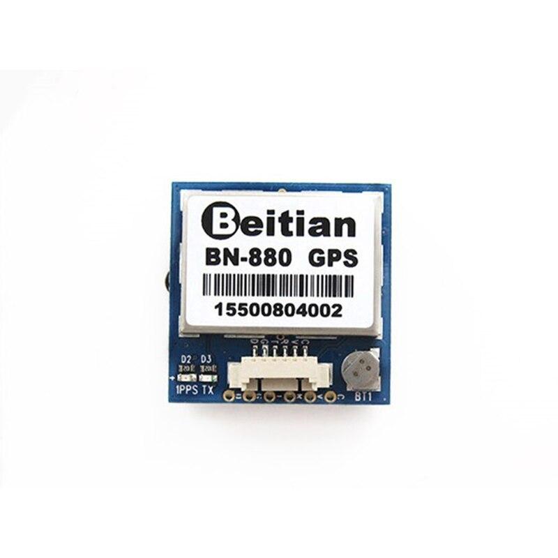 Módulo de Control de vuelo Beitian BN-880 módulo Dual con conector de Cable para cámara multicóptero RC Drone FPV partes