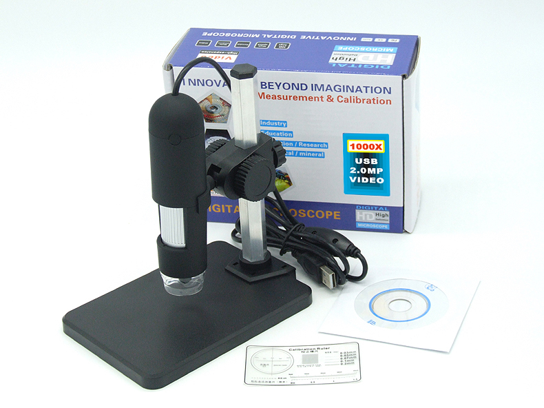 ФОТО 2MP USB 1000X Microscope For Micro Material Inspection USB Handheld Endoscope