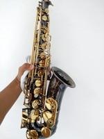 SELMER Eb Alto Saxophone Alto Sax Black Nickel Gold Eb To High F Tone Eb