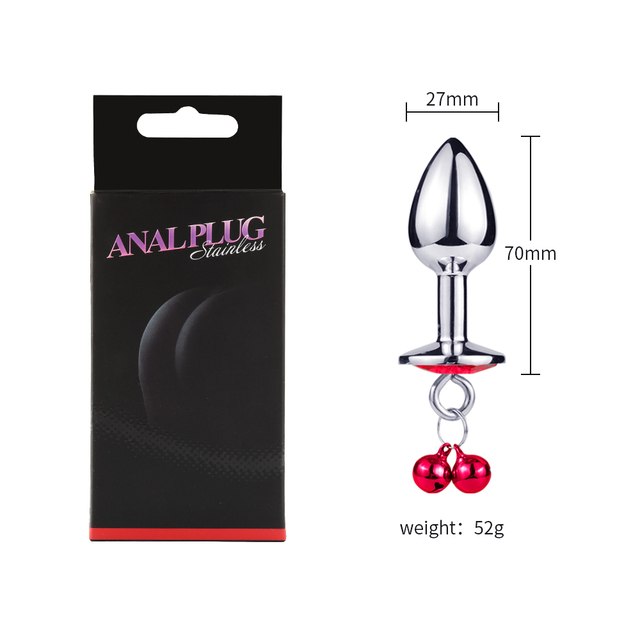 Intimate Product Metal Butt Plug Anus Expander the Members for Sex Anus Dilator Anal  Anal Plug Private Good for Men and Women 5
