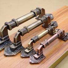 Винтажные раздвижные деревянные дверные ручки и ручки в Европейском стиле, Мебельная ручка для кухонных межкомнатных дверей