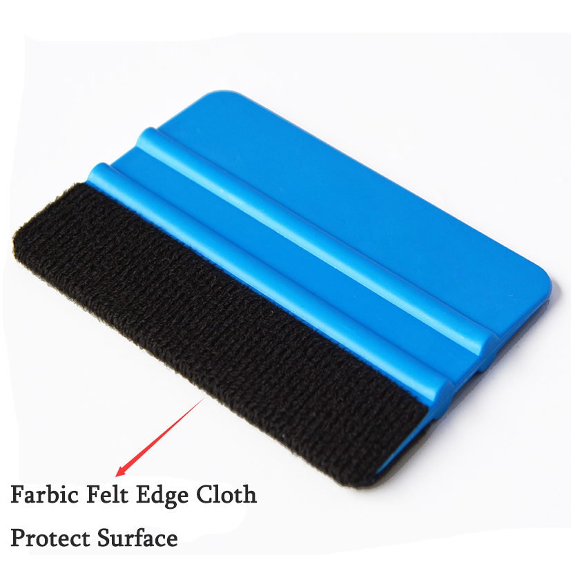 EHDIS Vinyl Film Car Wrap Foil Carbon Fiber Felt Edge Squeegee Scraper Auto Car Styling Stickers Accessories Window Tints Tool