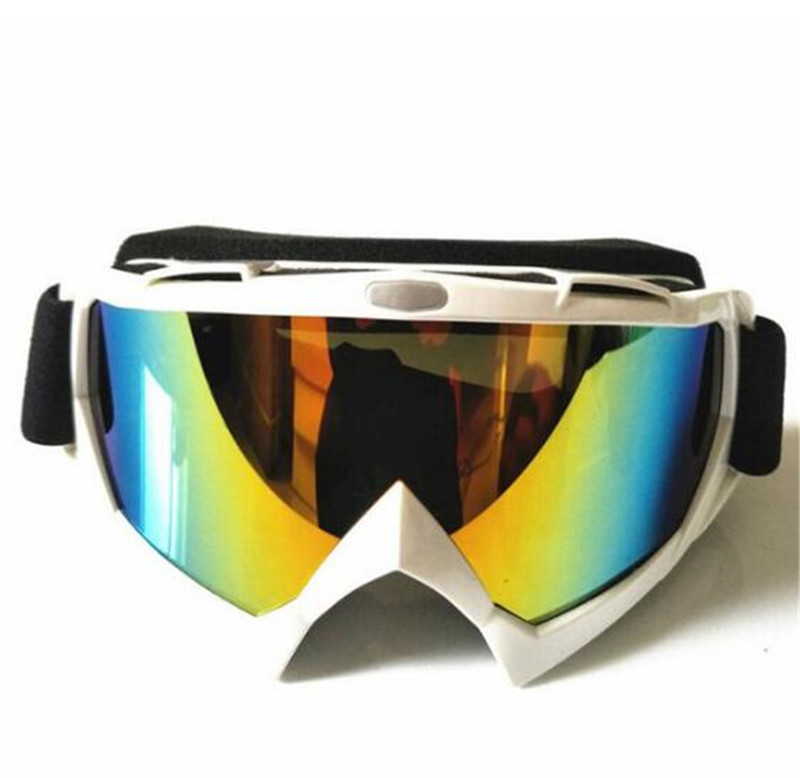 New Motorcycle Windproof Riding Glasses Ski Snow Snowboard Goggles Motocross Off-Road Downhill Dustproof Racing Eyewear