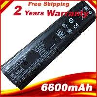 6600mAh 9 Cells Laptop battery for HP Envy dv4 5200 dv6 7200 m6 Pavilion dv4 dv4 5000 dv6 7000 MO06 H2L55AA