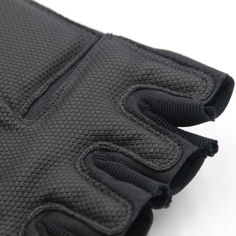 Tactical-Gloves Combat Carbon-Fiber Anti-Slip Half-Finger Military Us-Army Outdoor-Sports