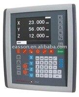 Melhor preço easson ES-12 lcd 3 eixos digital readout dro com escala linear gs10 codificador linear