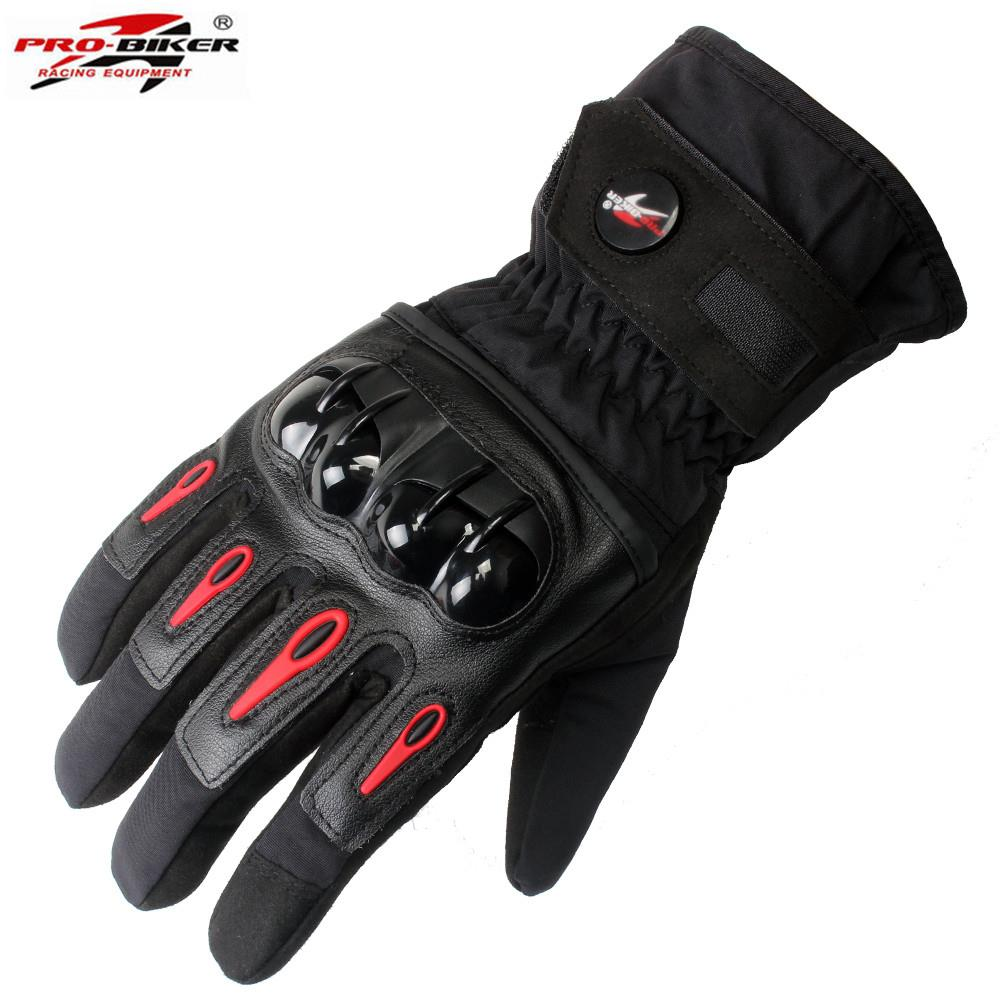 Waterproof Motorcycle <font><b>Gloves</b></font> Mens Motorbike Moto Motocross Racing Protection Gear MTV08