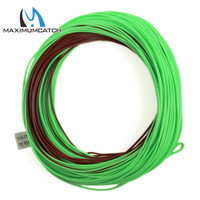 Maximumcatch Mainstream Weight Forward Floating With Sinking Tip 80FT 4 8WT Brown Green Color With 2