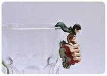 Original Genuine Bulks Attack on Titan  on the edge of cup Capsule Model Gashapon figure Kids Toy Gift