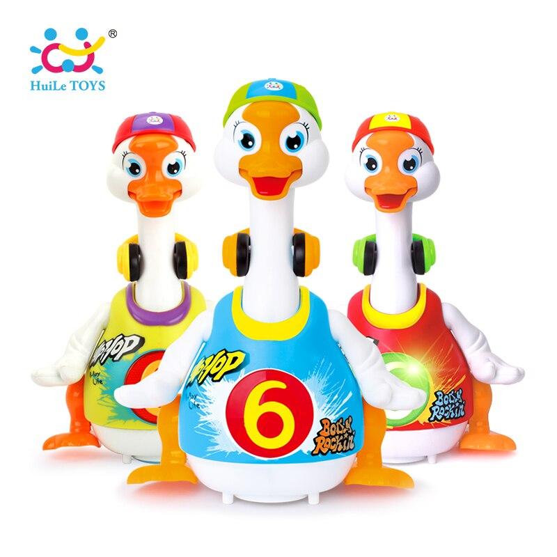 HUILE JOUETS 828 Bébé Jouets Électrique Hip Pop De Danse Lire et Raconter L'histoire et Interactif Swing Goose Enfants L'apprentissage de L'éducation jouets Cadeaux