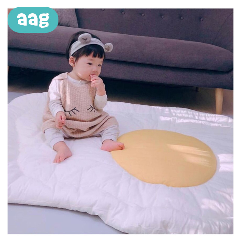 AAG Cotton Baby Nest Baby Bed Baby Cot Portable Crib Travel Bed Babynest Cute Children Play Crawl Mat Cushion Cradle Room Decor