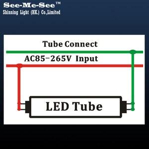 Image 5 - Tubo led t8 de alto brillo, 10 unidades por lote, 4 pies, 5 pies, 1200MM, 1500MM, 20W, 24W, 28W, AC85 265V