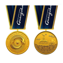 Cheap Gold Medal Most popular 3D Raised Round Engraving