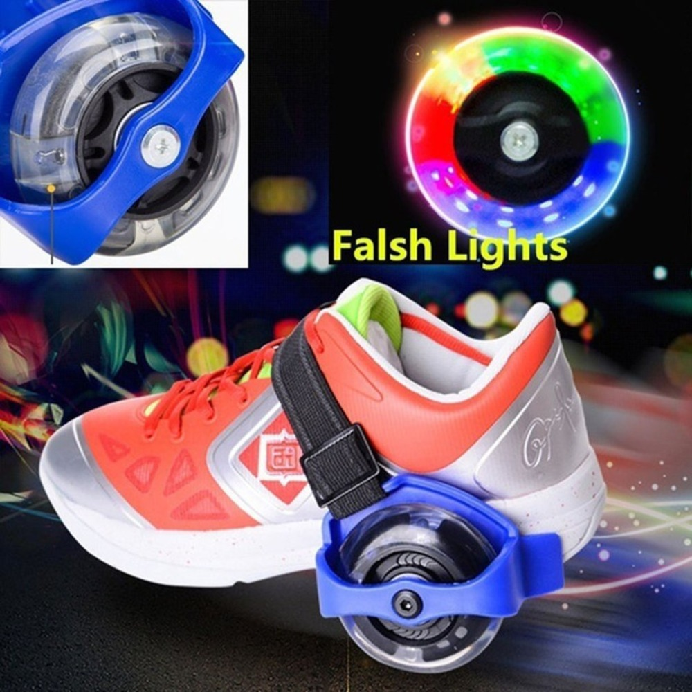 Flashing Roller Children Roller Shoes Roller Skates Men And Women Single Wheel Children's Shoes Heelys Wheel Children's Shoes