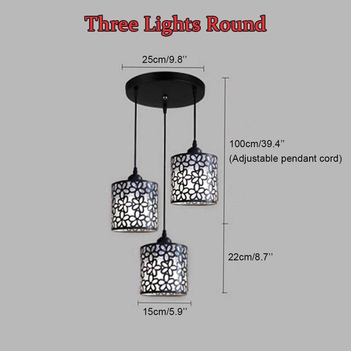 para fora lustre luminária decoração de casa