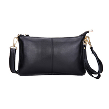 KEYTREND Real Leather-based Girls Messenger Baggage Cow Leather-based Shoulder Baggage Excessive High high quality Small Single Clutches Crossbody Baggage KSB160