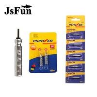 JSFUN 100 PCS Lot Brand CR425 Battery Fishing Float Electronics Battery Luminous Float Battery Fishing Tools