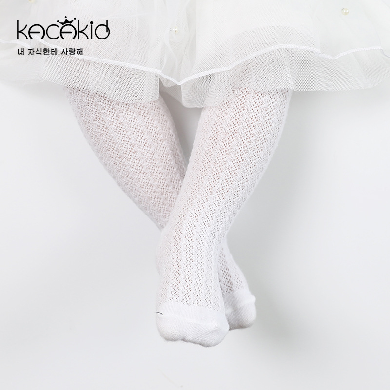 New Arrive Baby Socks Cotton Princess Knee Sock Kids Summer Wear Thin Designs Girls Long Booties GZ170