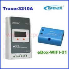 Tracer3210A 2210A MPPT solarladeregler 30A 12 V/24 Auto verbinden solarregler EPEVER MPPT Solarregler mit WIFI