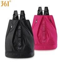 361 спортивная сумка с обувью для хранения мужчин и женщин, сумки для плавания, розовый, черный водонепроницаемый рюкзак, сухая влажная сумка,...