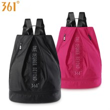 361 Sport Bag with Shoes Storage Men Women Children Swimming Bags Pink Black Waterproof Backpack Dry Wet Pool Beach Gym Fitness