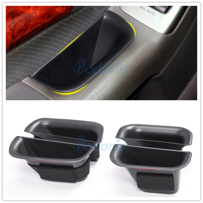 Door Holder Armrest Glove Storage Box Car Organizer Container Tray For <font><b>Lexus</b></font> GX 470 <font><b>GX470</b></font> 2004-2009 Car Styling <font><b>Accessories</b></font> image
