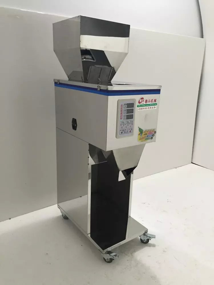 Medicine filling machine food filling machine 10-999g Large-scale of quantitative machines, automatic powder filling machine tea powder particles drug quantitative filling machine