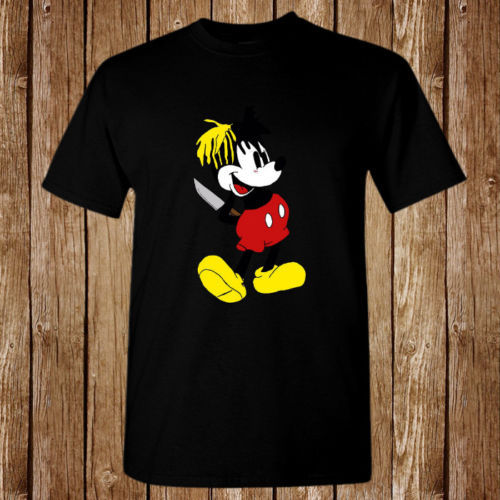c6bcb7748 XXXTENTACION MICKY DAGGER MOUSE Size S 5XL T shirt-in T-Shirts from ...