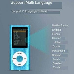 Image 5 - Seenda MP4 音楽プレーヤー 1.8 インチlcdスクリーンサポートマイクロsd tfハイファイビデオラジオ音楽フィルムデジタルカスタムビデオプレーヤーのe マネーブッカーポータブルMP4 プレーヤー