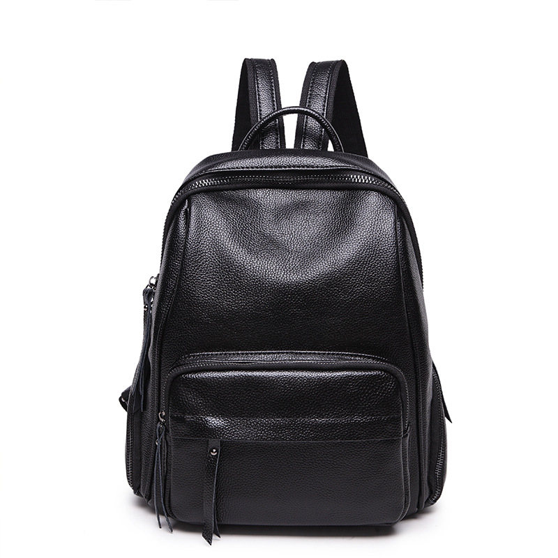 Brand High Quality Leather Backpack Women Designer School Bags For Teenagers Girls Luxury Women Backpacks Leisure new hot C474 цена